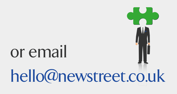 Email: hello@newstreet.co.uk